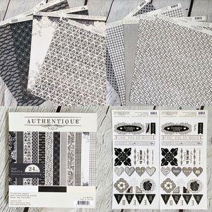 Authentique Paper 12x12 Scrapbook Cardmaking Kit